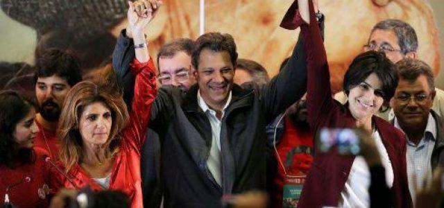 Brasil – Apoyará PSOL a Haddad de cara a la segunda vuelta electoral