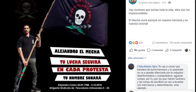 """Chile – PDI: """"Hay personas que están siendo investigadas"""" por la muerte de Alejandro Castro"""