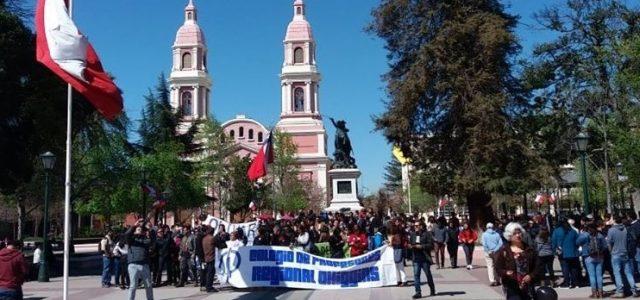 Chile – Así fue la primera jornada de Paro Nacional Docente: Reportaje Gráfico
