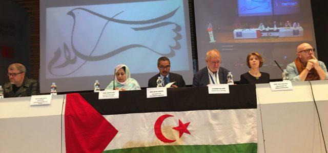 Inaugurada 43ª Conferencia Europea en solidaridad con el pueblo Saharaui en Madrid, España. EUCOCO 2018