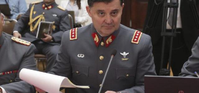 Chile – Comandante en jefe del Ejército revela que oficiales traficaron armas para bandas de narcos