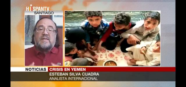 Esteban Silva analiza el drama humanitario de los niños en Yemen producto de los ataques militares de Arabia Saudita.
