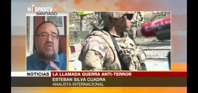 """Esteban Silva: """"EEUU lanzó la guerra antiterrorista como parte de su estrategia de control geopolítico y militar."""" Análisis en HispanTV"""