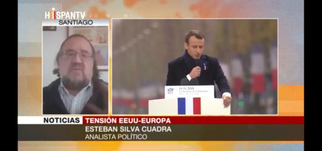 """"""" Trump se opone a una Europa fuerte y con algo de independencia """". Esteban Silva analiza en HispanTV las relaciones entre EEUU y Europa"""