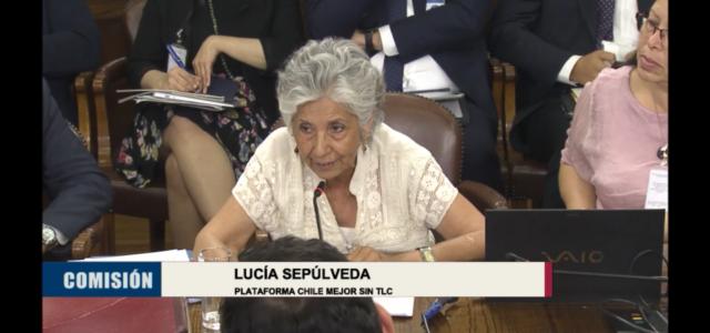 Chile Mejor sin TLC presentó ante diputados sólidos argumentos para rechazar el TPP 11, instandoles a votar en contra.