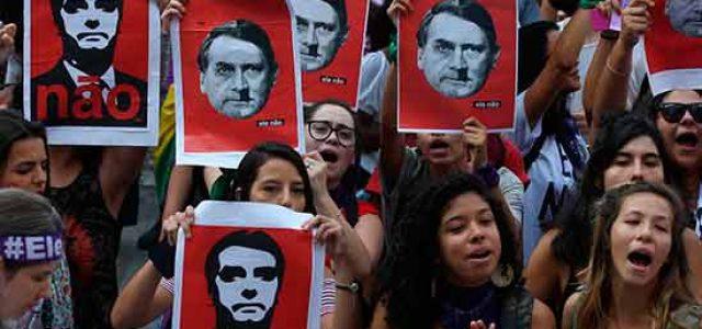 Brasil. ¡La resistencia comienza ya!