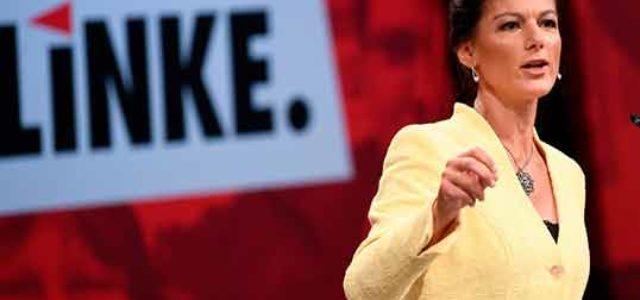 """El debate sobre la inmigración en Alemania • La iniciativa Aufstehen, una """"izquierda"""" reaccionaria"""