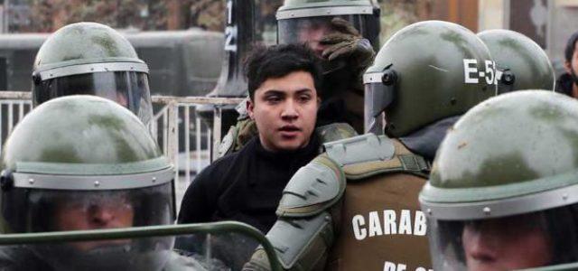 Carabineros dispara nuevamente contra jóvenes Mapuche, un herido de gravedad