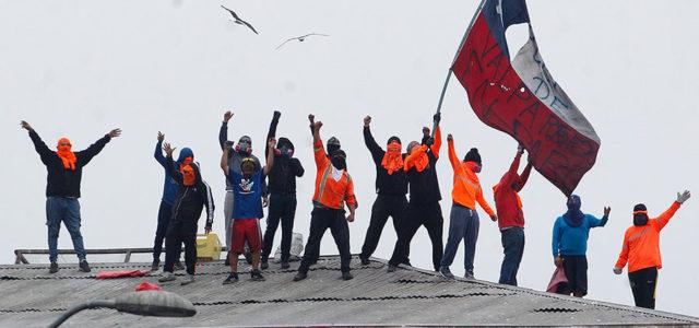 Chile – Valparaiso: Portuarios rechazan oferta, sigue la paralización