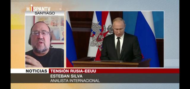 """""""Rusia está preparada ante una escalada agresiva de EEUU"""". Análisis de Esteban Silva en Hispan TV"""