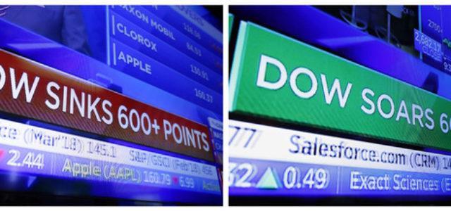 EEUU – Ante desplome en Wall Street, secretario del Tesoro acude a banqueros