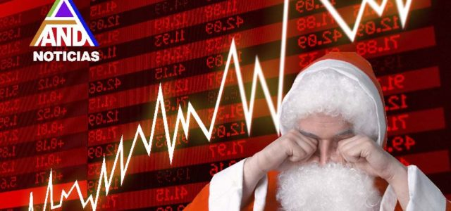 Colapso navideño en Wall Street: peor baja en 100 años sufrió el Dow Jones