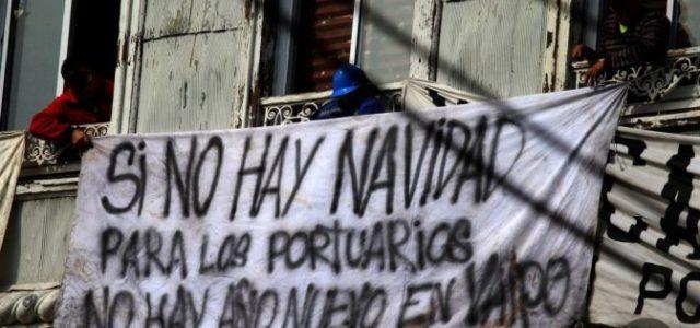 Valparaíso: TRABAJADORES PORTUARIOS DENUNCIAN: VON APPEN NO CUMPLE ACUERDO, LAS BASES SE DECLARAN EN ALERTA