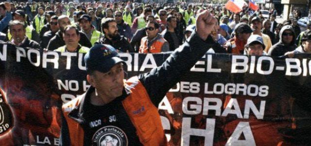 Chile – SAN VICENTE-TALCAHUANO: BOICOT A CUALQUIER NAVE QUE SEA ATRACADA POR REMOLCADORES DEL GRUPO ULTRAMAR