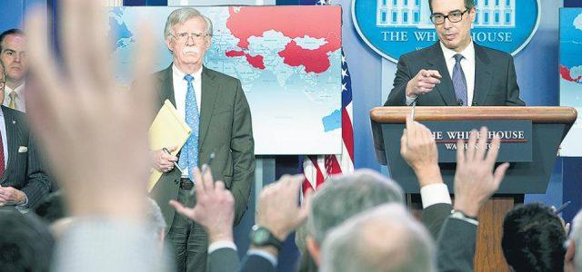 EE.UU. juega con fuego con el petróleo venezolano