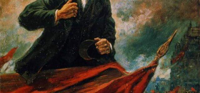 Muere LENIN, un 21 de enero de 1924. Cantata a la muerte de LENIN por Bertolt Brecht.