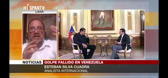 Guaidó es parte de operación de Trump y no busca diálogo» Esteban Silva analiza en HispanTV situación de agresión contra Venezuela.