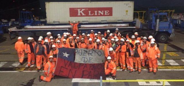 Valparaiso  – VON APPEN SIGUE CON LISTAS NEGRAS PARA 24 ESTIBADORES: SIGUEN PAROS DE BRAZOS CAÍDOS