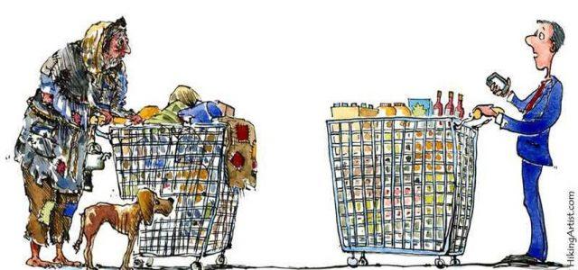 Estudio: Ricos aumentan su millones y los pobres reducen sus ingresos