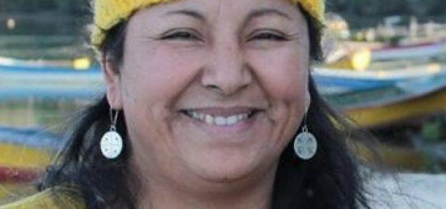 """Ruth Caicheo, werken de Consejo Williche de Chiloé: """"Defender la Buta Wapi y seguir levantando la voz hasta que el mundo sea"""""""