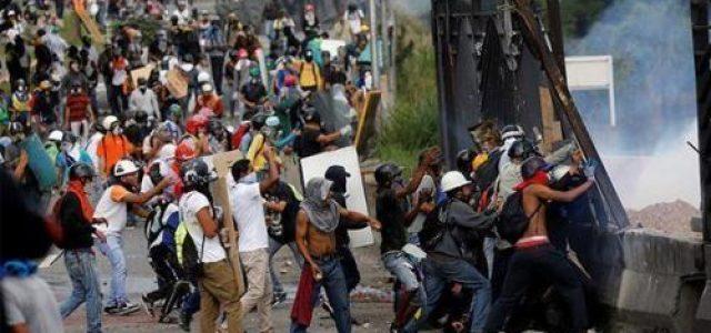Hacia la guerra civil en Venezuela