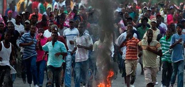 Haití: Crónica al rojo vivo