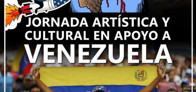 En Puerto Montt: El sur de Chile dice le No a la intervención yankee contra el pueblo y el gobierno de la República Bolivariana de Venezuela.