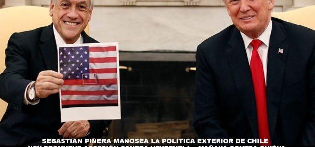 Convocan a rechazar viaje de Piñera a Cúcuta en Colombia. En nuestro nombre ¡NO! No a la agresión contra Venezuela.