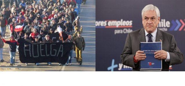 Chile: Basta del abuso empresarial
