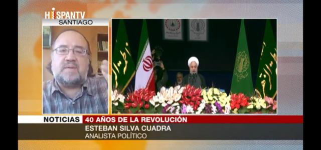 """40 años de la Revolución Islámica de Irán. Esteban Silva: """"Revolución Islámica acabó con subordinación de Irán del Occidente"""""""
