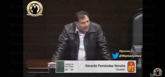 Diputado GF Noroña de México: «Los ridículos son los que piden el reconocimiento de Guaidó, traidores al pueblo de México, traidores al pueblo venezolano»