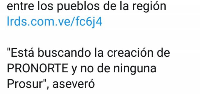 """""""En Chile estamos en desacuerdo con la política a la cual se presta Piñera como vasallo de Trump en contra de Venezuela"""" . Entrevista en La Radio del Sur."""