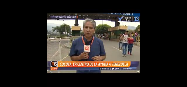 Mentiras, manipulación e intoxicación de los medios de comunicación contra Venezuela. Los reportajes de Emilio Sutherland de Canal 13.