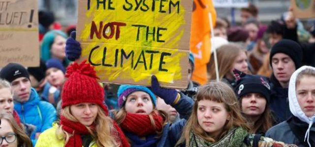 15 de marzo: Huelga General Estudiantil Europea contra el cambio climático