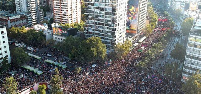 Fotos de la marcha del 8 de marzo de 2019 en Santiago