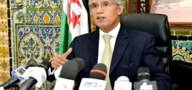 Canciller Saharaui responde a Marruecos: » Todo intento por darle visos de legalidad al colonialismo es un intento vano e inútil»