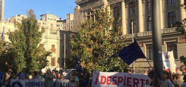 En Santiago, Valparaíso y Valdivia organizaciones sociales y de Trabajadores se movilizaron para rechazar el Tratado Transpacífico TPP11.