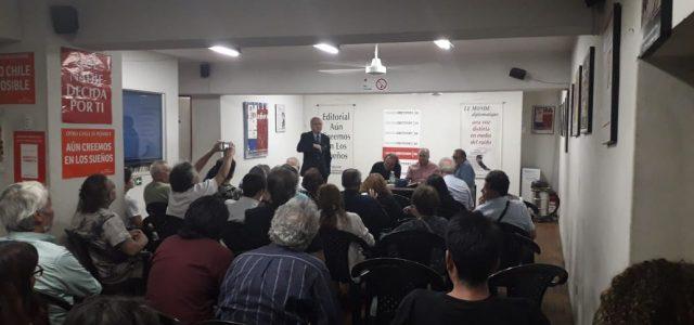 Exitoso Foro en rechazo a la agresión Imperial y en solidaridad con el pueblo y gobierno de Venezuela en Santiago de Chile.