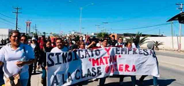 México. Las huelgas de las maquiladoras de Matamoros se extienden a otros sectores