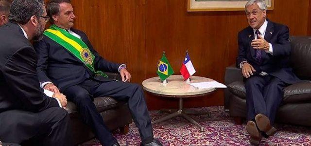 BOLSONARO PERSONA NON GRATA EN CHILE/  BOLSONARO NON GRATO NO CHILE