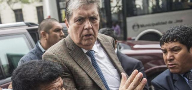 ALAN GARCÍA: MUERE EL EXPRESIDENTE DE PERÚ TRAS DISPARARSE EN LA CABEZA CUANDO ERA DETENIDO EN SU CASA