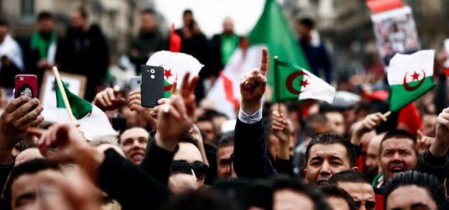 Levantamiento en Argelia: 'Nos quedamos aquí hasta que todo el sistema se vaya'