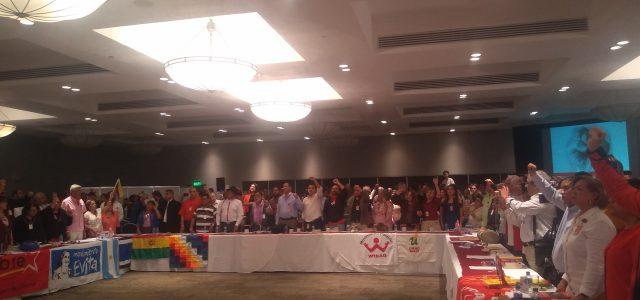 Con activo llamado a la solidaridad internacionalista culminó el XXIII Seminario Internacional organizado por el Partido del Trabajo de México.