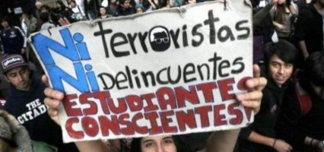 Aula Segura igual a violencia policial y criminalización contra estudiantes secundarios