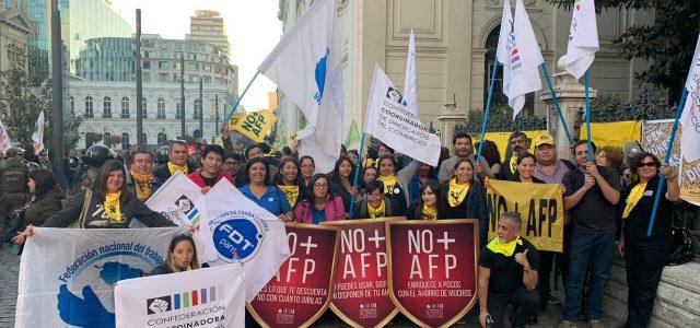 Coordinadora de Sindicatos del Comercio y Servicios Afines – Sobre votación para Reforma de Sistema de Pensiones