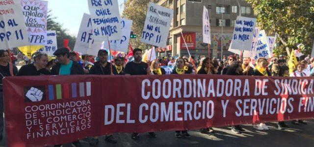 La Coordinadora de Sindicatos del Comercio dice ¡No a la flexibilidad de la Jornada Laboral!