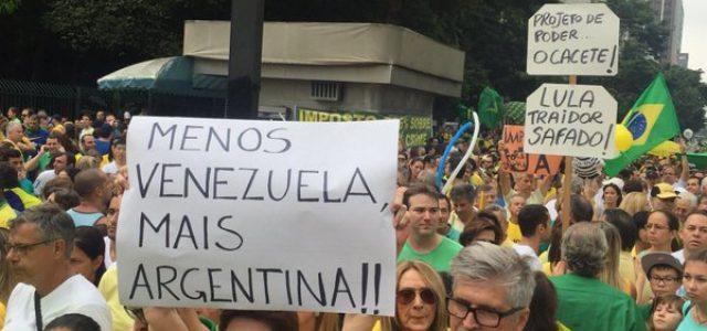 Brasil – El neofascismo fue a las calles travestido de amarillo