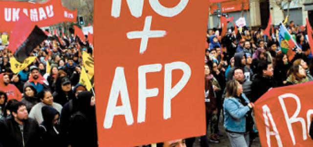 Organizaciones sociales preparan «jornada de indignación y protesta» previa a la Cuenta Pública