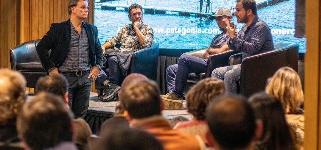 """Histórico """"cara a cara"""" entre empresarios salmoneros y vecinos de Puerto Varas en estreno de """"Estado Salmonero"""""""