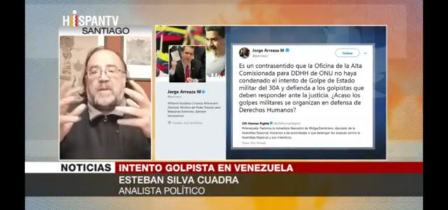 DDHH en Venezuela: Bachelet presionada por EEUU y poderes fácticos como la Internacional Socialdemócrata (IS) pro europea.